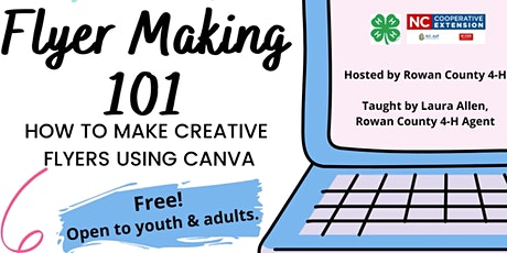 Flyer Making 101: How to Make Creative Flyers Using Canva tickets