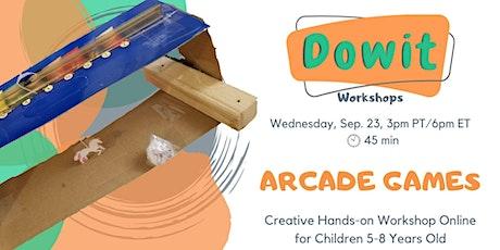 Creative Hands-on Workshop - Arcade Games tickets