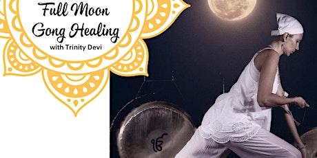 Full Moon Gong Healing tickets