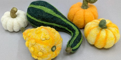 Needle Felt Decorative Fall Gourds - 2 Day Classes tickets