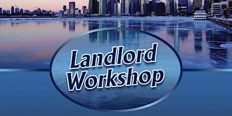 Landlord Workshop - Every Thursday Online biglietti