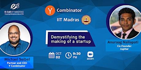 Y Combinator & IIT Madras Event (India) tickets