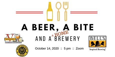 A Beer, A Bite and A (Home)Brewery tickets