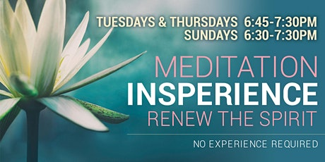 Meditation Insperience in English (Online) tickets