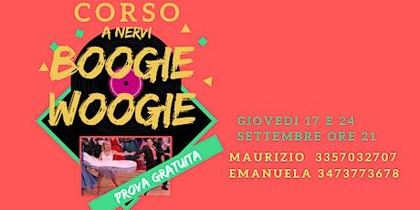 Corso di Boogie Woogie e dintorni biglietti