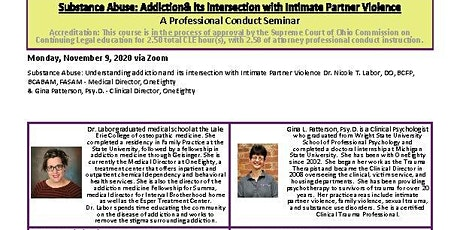 Substance Abuse & its intersection with Intimate Partner Violence tickets