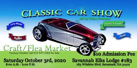 Classic Car Show & Craft/Flea Market tickets