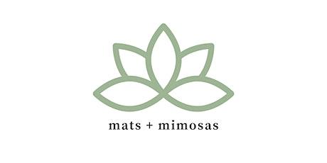 Mats + Mimosas tickets