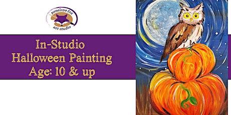 In-Studio - Halloween Paint Party - OWL tickets