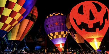 A Spooktacular Hot Air Balloon Glow and Trick-or-Treat tickets