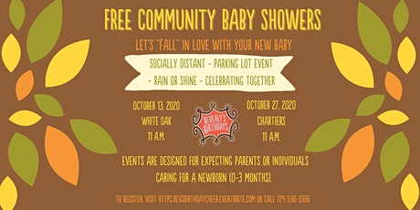 Free Community Baby Shower - Chartiers Area tickets