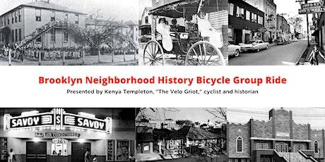 Brooklyn Neighborhood History Bicycle Group Ride tickets