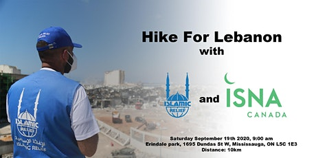 Hike For Lebanon with Islamic Relief and ISNA tickets