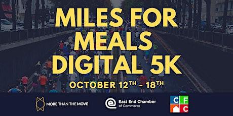 Miles For Meals Digital 5k tickets