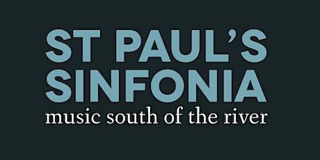 St Paul's Sinfonia September concert! tickets