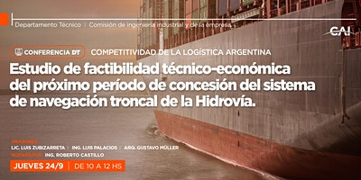 #Conferencia DT – Competitividad de la Logística Argentina