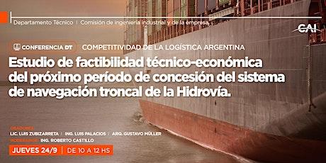#Conferencia DT - Competitividad de la Logística Argentina entradas
