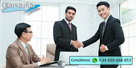 CURSO ONLINE INGLES ORAL Y ESCRITO EN EL COMERCIO INTERNACIONAL entradas