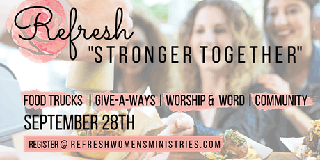 Refresh Women's Ministry SPECIAL EVENT tickets