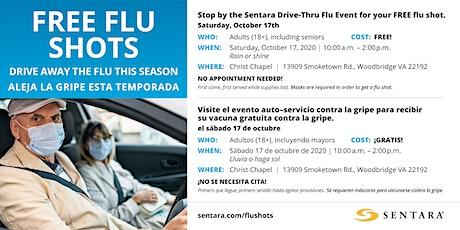 FREE Drive Thru Flu Shot Event tickets