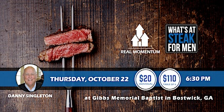 What's At Steak Night - Gibbs tickets