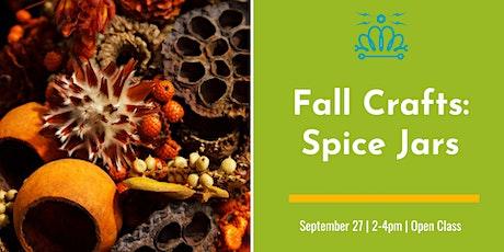 Fall Crafts: Spice Jars tickets