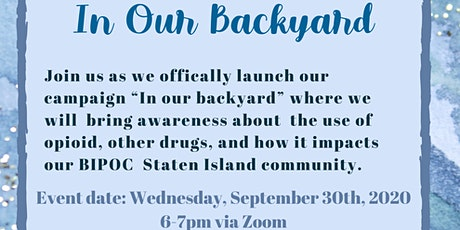 In Our Backyard Campaign Launch tickets