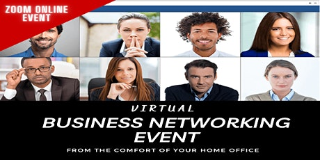 Virtual Business Networking Event | Zoom Meeting tickets