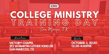 College Ministry Training Day - San Marcos, TX tickets