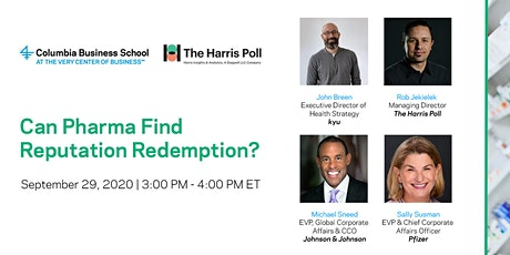Can Pharma Find Reputation Redemption? tickets