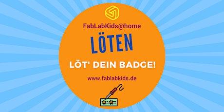 meet&code - LÖT' DEIN BADGE! Youtube-Mitmach-Event Tickets