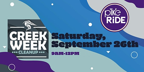 Creek Week cleanup with PikeRide tickets