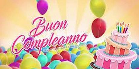 Compleanno - Serata - Aperitivo - Funzies biglietti