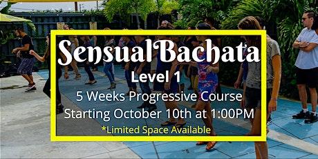 Sensual Bachata- Level 1 (5 Weeks Progressive Course) tickets