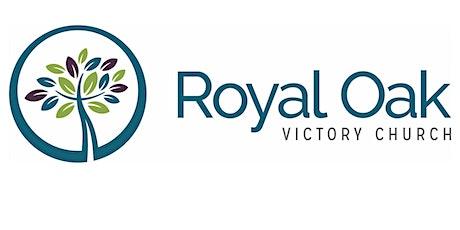 ROVC 9 AM Service tickets