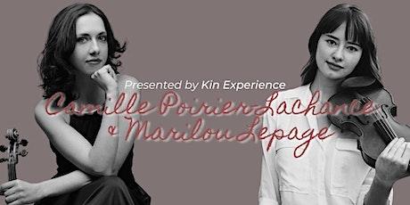 En Concert: Camille & Marilou @ KIN Experience billets