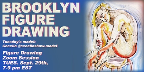 Brooklyn Figure Drawing Tuesday Zoom Session - Cecelia tickets
