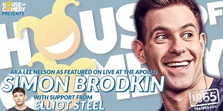 Comedy with Simon Brodkin & Elliot Steel | The 1865 tickets