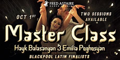 Texas Open Dancesport Classic Master Class tickets