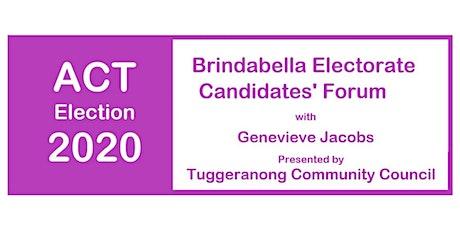 Brindabella Candidates' Forum tickets