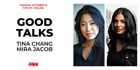 Good Talks: Tina Chang and Mira Jacob tickets