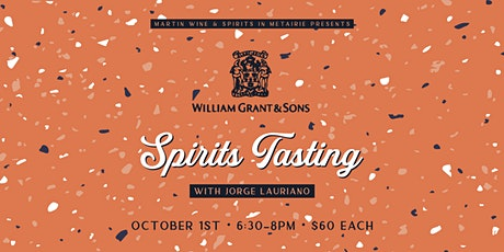 William Grant & Sons Spirits Tasting tickets