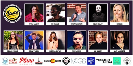 Plano Virtual Comedy Festival - Friday Late Night Blue Stand-Up Show tickets