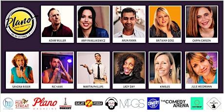Plano Virtual Comedy Festival - Sunday Comedy Brunch Show tickets