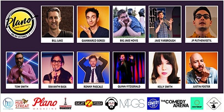 Plano Virtual Comedy Festival - Sunday Night Stand-up Show tickets