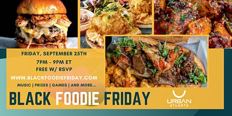 Black Foodie Friday: Virtual Dinner Party tickets