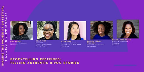 Storytelling Redefined: Telling Authentic BIPOC Stories tickets