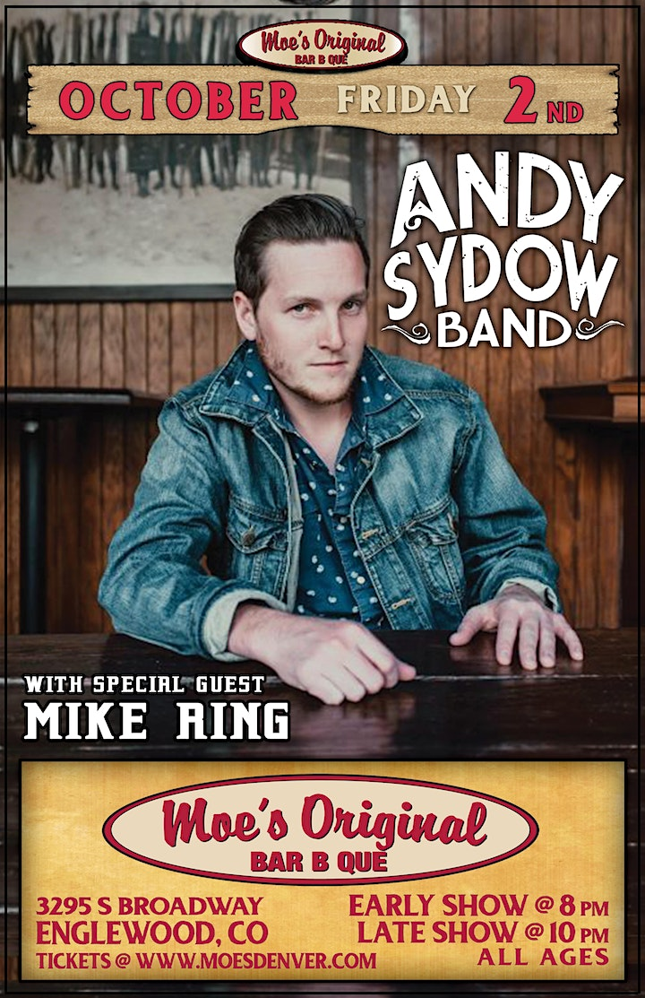 Andy Sydow Band w/ Mike Ring image