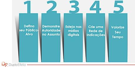 5 Passos para Atrair + Pacientes - Passos 2 a 5 ingressos