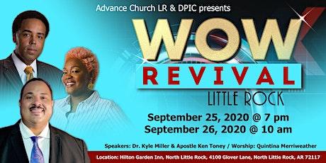 WOW Revival, Little Rock! tickets